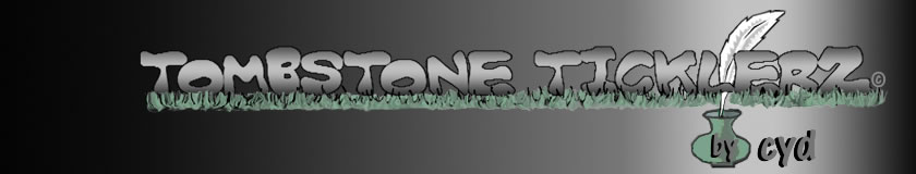 Tombstone Ticklerz banner
